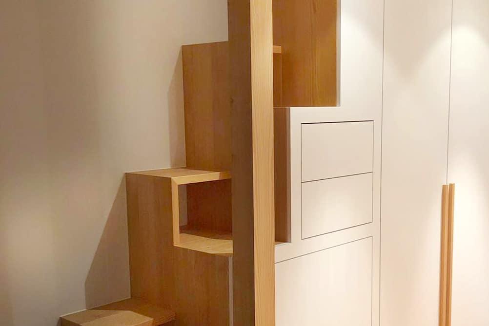Ein Entwurf Ein Schrank Eine Treppe Schreinerei Adolphs
