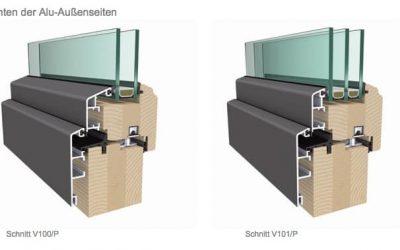 Fenster und Türen aus Holz, Alu oder Kunststoff