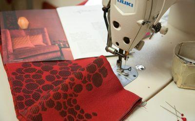 Alles von Hand gefertigt – unsere Polsterei